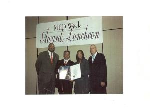 City of Philadelphia Minority Enterprise Development Committee Pioneer Award