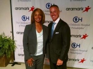 Eric. J. Foss, CEO and President of Aramark